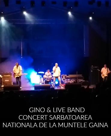 Gino & Live Band – Concert Sarbatoarea Nationala de la Muntele Gaina
